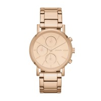 DKNY Ladies' Rose Gold-Plated Bracelet Watch was £185 now £119