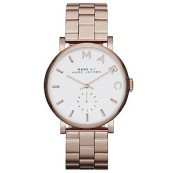 Marc Jacobs Baker ladies' rose gold-plated bracelet watch £209