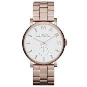 Marc Jacobs Baker ladies' rose gold-plated bracelet watch £209