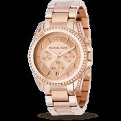 Michael Kors ladies' rose gold-plated bracelet watch £229