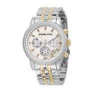 Michael Kors ladies' two colour bracelet chronograph watch £209