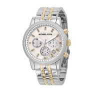 Michael Kors ladies' two colour bracelet chronograph watch £209